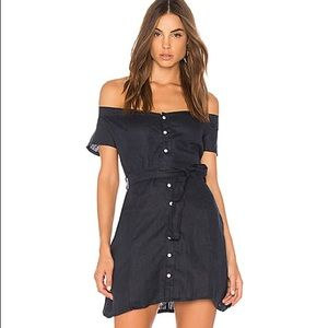 Chic off the shoulder dress